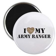 I Love My Army Ranger Magnet