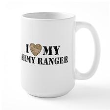 I Love My Army Ranger Mug