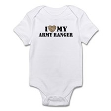 I Love My Army Ranger Infant Bodysuit