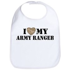 I Love My Army Ranger Bib
