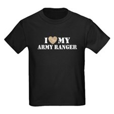 I Love My Army Ranger T