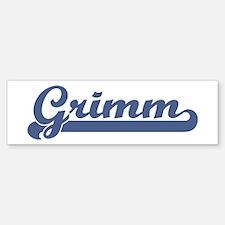 Grimm (sport-blue) Bumper Bumper Bumper Sticker