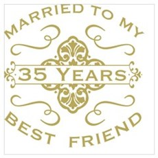 Married My Best Friend 35th Poster