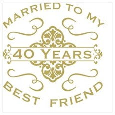 Married My Best Friend 40th Poster