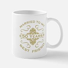Married My Best Friend 50th Mugs