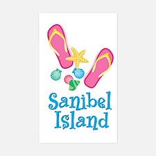 Sanibel Island - Rectangle Decal