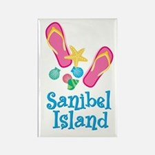 Sanibel Island - Rectangle Magnet