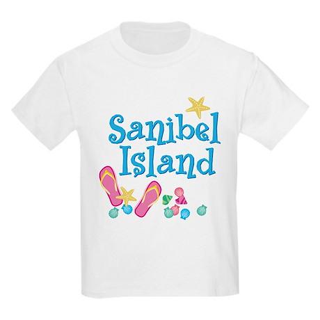 Sanibel Island - Kids Light T-Shirt