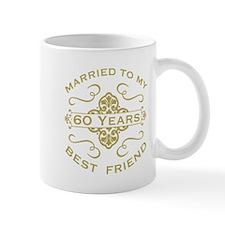 Married My Best Friend 60th Mugs