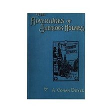 Sherlock Holmes Adventures first  Rectangle Magnet