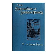 Sherlock Holmes Adventure Postcards (Package of 8)