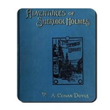 Sherlock Holmes Adventures first edition Mousepad