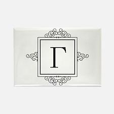 Gamma Greek monogram Magnets