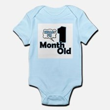 Hello I'm 1 Month Old Body Suit