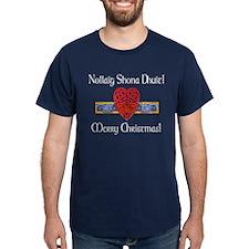 Irish/English Greetings Celtic Heart T-Shirt