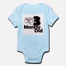 Hello I'm 3 Months Old Body Suit