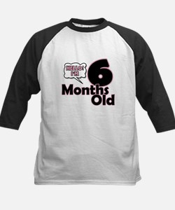 Hello I'm 6 Months Old Baseball Jersey