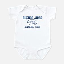 BUENOS AIRES drinking team Infant Bodysuit