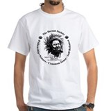 Fort fisher hermit Mens White T-shirts