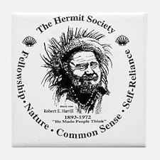 Hermit Society Tile Coaster