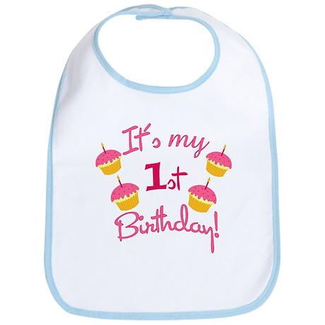 It's My 1st Birthday! Bib