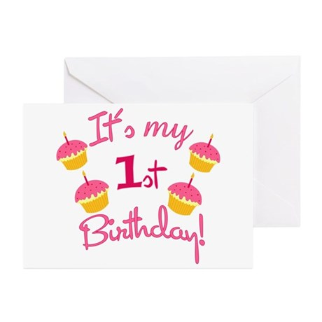 It's My 1st Birthday! Greeting Cards (Pk of 20)
