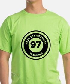 Aged To Perfection 97 Years Old T-Shirt