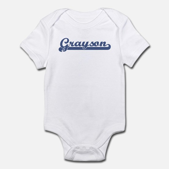 Grayson (sport-blue) Infant Bodysuit