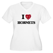 I love Hornets Plus Size T-Shirt