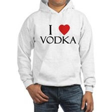 I Love Vodka Hoodie
