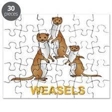 Weasels W Text Puzzle