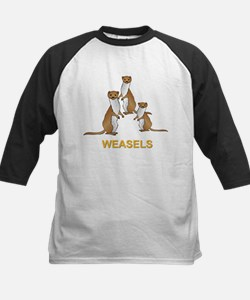 Weasels W Text Tee