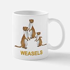 Weasels w Text Mug