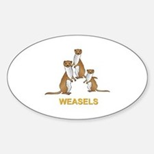 Weasels w Text Decal