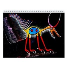 2015 African Tribal Art Wall Calendar