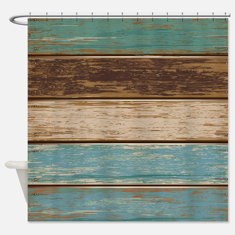 Mustard Yellow Shower Curtain Teal Throw Pillows