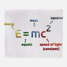 Mass-Energy_Equivalence_Formula Throw Blanket