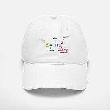 Mass-Energy_Equivalence_Formula Baseball Baseball Cap