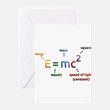 Mass-Energy_Equivalence_Formula Greeting Cards