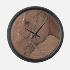 Rodeo Horse Large Wall Clock