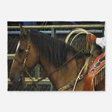 Rodeo Horse 5'x7'Area Rug