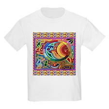 Mexican_String_Art_Image_Sun_Moon T-Shirt