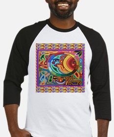 Mexican_String_Art_Image_Sun_Moon Baseball Jersey