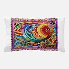 Mexican_String_Art_Image_Sun_Moon Pillow Case