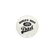 Coal Miner/Dad Mini Button (10 pack)