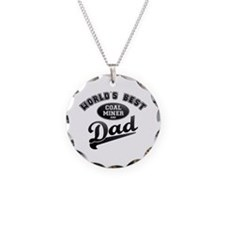 Coal Miner/Dad Necklace