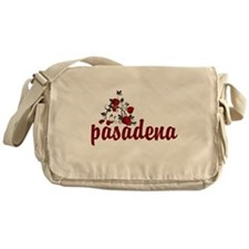 Pasadena Roses Messenger Bag