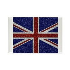 Cute Flags british Rectangle Magnet (10 pack)
