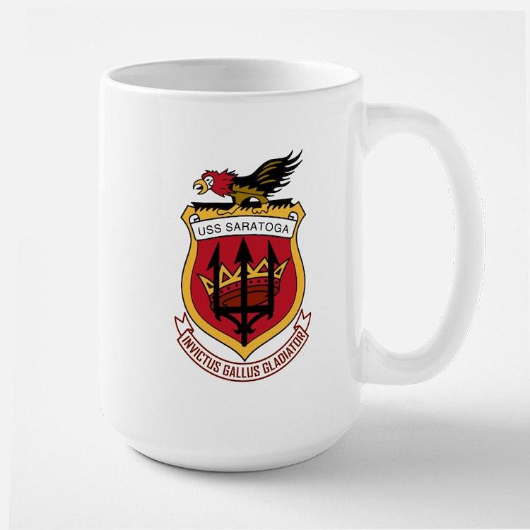 Uss Saratoga Cv-60 Mugs