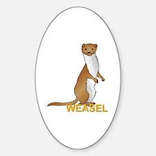 Weasel Sticker (Oval)